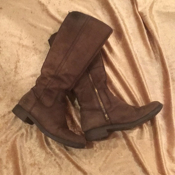 ebaf4e5a866 Timberland Knee High Waterproof Leather Boots EUC